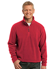 Port Authority TLF218 Men Tall Value Fleece 1/4Zip Pullover at GotApparel