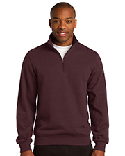 Sport-Tek TST253 Men Tall 1/4Zip Sweatshirt at GotApparel