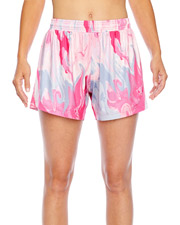 Team 365 TT42W Ladies' All Sport Sublimated Pink Swirl Short at GotApparel
