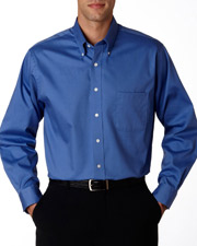 Van Heusen V0067  Mens L/S Oxford Shirt at GotApparel