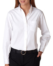 Van Heusen V0110  Ladies L/S Oxford Shirt at GotApparel