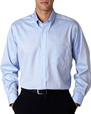 Van Heusen V0143  Mens Pinpoint Shirt at GotApparel