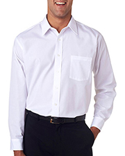 Van Heusen V0214     Men's Long-Sleeve Cotton-Rich Broadcloth  at GotApparel