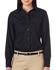 Van Heusen V0216     Ladies' Long-Sleeve Cotton-Rich Broadcloth  at GotApparel