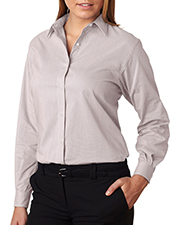 Van Heusen V0236     Ladies' Long-Sleeve Feather Stripe  at GotApparel