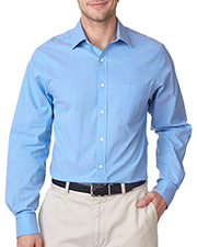 Van Heusen V0237     Men's Long-Sleeve Stretch Pinpoint Oxford  at GotApparel