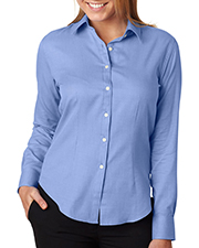 Van Heusen V0397     Ladies' Long-Sleeve Ring-Spun Performance Twill  at GotApparel