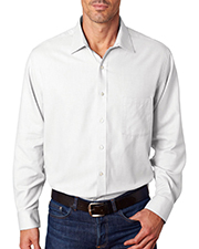 Van Heusen V0399     Men's Long-Sleeve Ring-Spun Performance Twill  at GotApparel