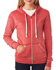 Weatherproof W2350   Women MV Sport Ladies' Angel Sanded Hooded Fleece at GotApparel