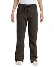 Hanes W550 Women 8 oz., 80/20 ComfortBlend EcoSmart Open-Bottom Fleece Pant