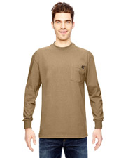 Dickies WL450 6.75 oz. Heavyweight Work Long-Sleeve T-Shirt at GotApparel