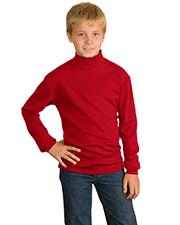 Port Authority Y321  Youth Interlock Knit Mock Turtleneck at GotApparel