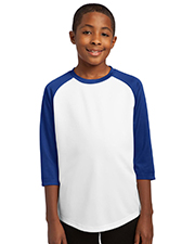 Sport-Tek YST205  - Youth PosiCharge Baseball Jersey.  at GotApparel