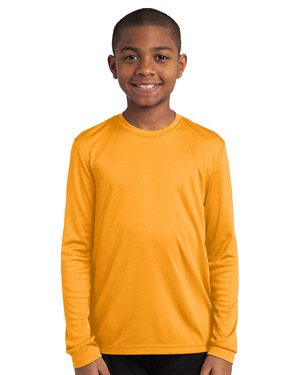 Sport-Tek YST350LS ® Youth Long Sleeve Competitor? Tee.  at GotApparel
