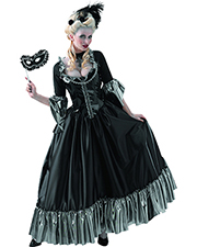 Halloween Costumes DG4818 Masquerade Queen Adult 12-14 at GotApparel