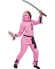 Halloween Costumes FW8708PKSM Pink Ninja Child Small 4-6 at GotApparel