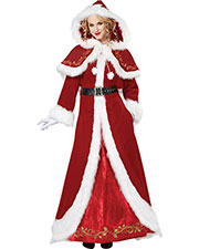 California Costumes 01557 Women Mrs. Claus Deluxe / Adult at GotApparel