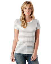 Custom Embroidered Alternative Apparel 01940E1 Ladies 4.13 oz. Ideal Eco-Jersey T-Shirt at GotApparel