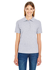 Hanes 035p   ' 6.5 Oz. X-Temp® Piqué Short-Sleeve Polo With Fresh Iq at GotApparel