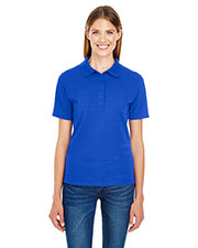 Hanes 035P Women 6.5 oz. X-Temp® Piqué Short-Sleeve Polo with Fresh IQ at GotApparel