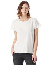 Custom Embroidered Alternative Apparel 04134C1 Ladies 3.7 oz. Rocker Garment-Dyed T-Shirt at GotApparel