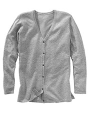 Edwards 046 Women's Long-Sleeve Matching Button V-Neck Soft Cardigan Sweater at GotApparel