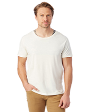 Custom Embroidered Alternative Apparel 04850C1 Men 3.69 oz. Heritage Garment-Dyed Distressed T-Shirt at GotApparel