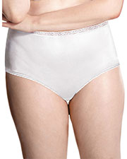 Just My Size 0601P4 Women Nylon Briefs 4Pack at GotApparel