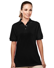 Tri-Mountain 092 Women Accent Easy Care Pique Golf Shirt at GotApparel
