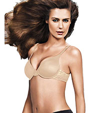 Maidenform 09441 Women Comfort Devotion Embellished Demi T-Shirt Bra at GotApparel