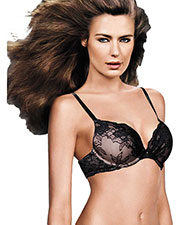 Maidenform 09443 Women Comfort Devotion Embellished Plunge PushUp Bra at GotApparel