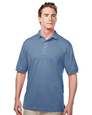 Tri-Mountain 095 Men Elet Easy Care Short-Sleeve Pique Golf Shirt at GotApparel