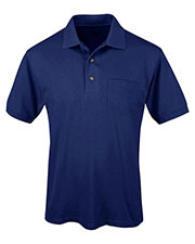 Tri-Mountain 096 Men Short-Sleeve Pique Easy Care Golf Shirt at GotApparel