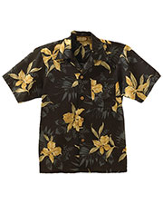 Edwards 1016 Unisex Island Print Short-Sleeve Camp Shirt at GotApparel