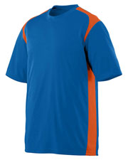 Augusta Drop Ship 1021 Boy's Moisture Wicking & Anti-Microbial Gameday Crew at GotApparel