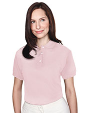 Tri-Mountain 102 Women Contour Short-Sleeve Pique Golf Shirt at GotApparel