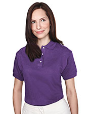 Tri-Mountain 102 Women's Contour Short-Sleeve Pique Golf Shirt at GotApparel