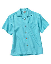 Edwards 1030 Unisex Jaquard Batiste Short-Sleeve Camp Shirt at GotApparel