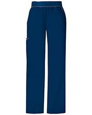 Cherokee 1031T Women Mid-Rise Knit Waist Pull-On Pant at GotApparel