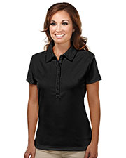 TM Performance 103 Women Stamina Ultracool Waffle Knit Golf Shirt at GotApparel