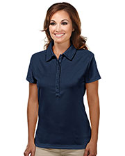 TM Performance 103 Women Stamina Ultracool Waffle Knit Golf Shirt at GotApparel