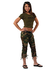 Rothco 1040 Women Womens Camo Capri Pants at GotApparel