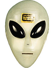 GLO ALIEN MASK at GotApparel