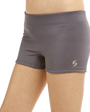 Soffe 1088G Girls Reversible Short at GotApparel