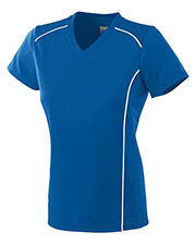 Augusta 1093 Girls Winning Streak Soccer Short Sleeve V-Neck Jersey at GotApparel