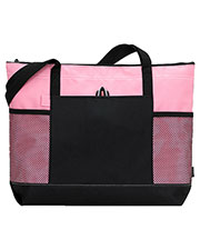 Gemline 1100 Unisex Select Zippered Tote Bag at GotApparel