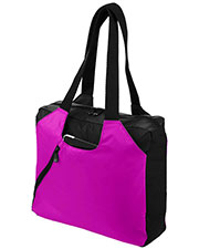 Augusta 1148 Unisex Dauntless PVC Tote Bag OneSize at GotApparel