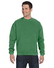 Authentic Pigment 11561 Men 11 oz. Pigt-Dyed Ringspun Fleece Crew at GotApparel