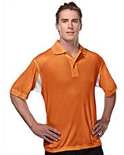 TM Performance 118 Men's Ultracool Waffle Knit Golf Shirt at GotApparel