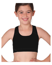 Soffe 1210G  Grls Sports Bra at GotApparel